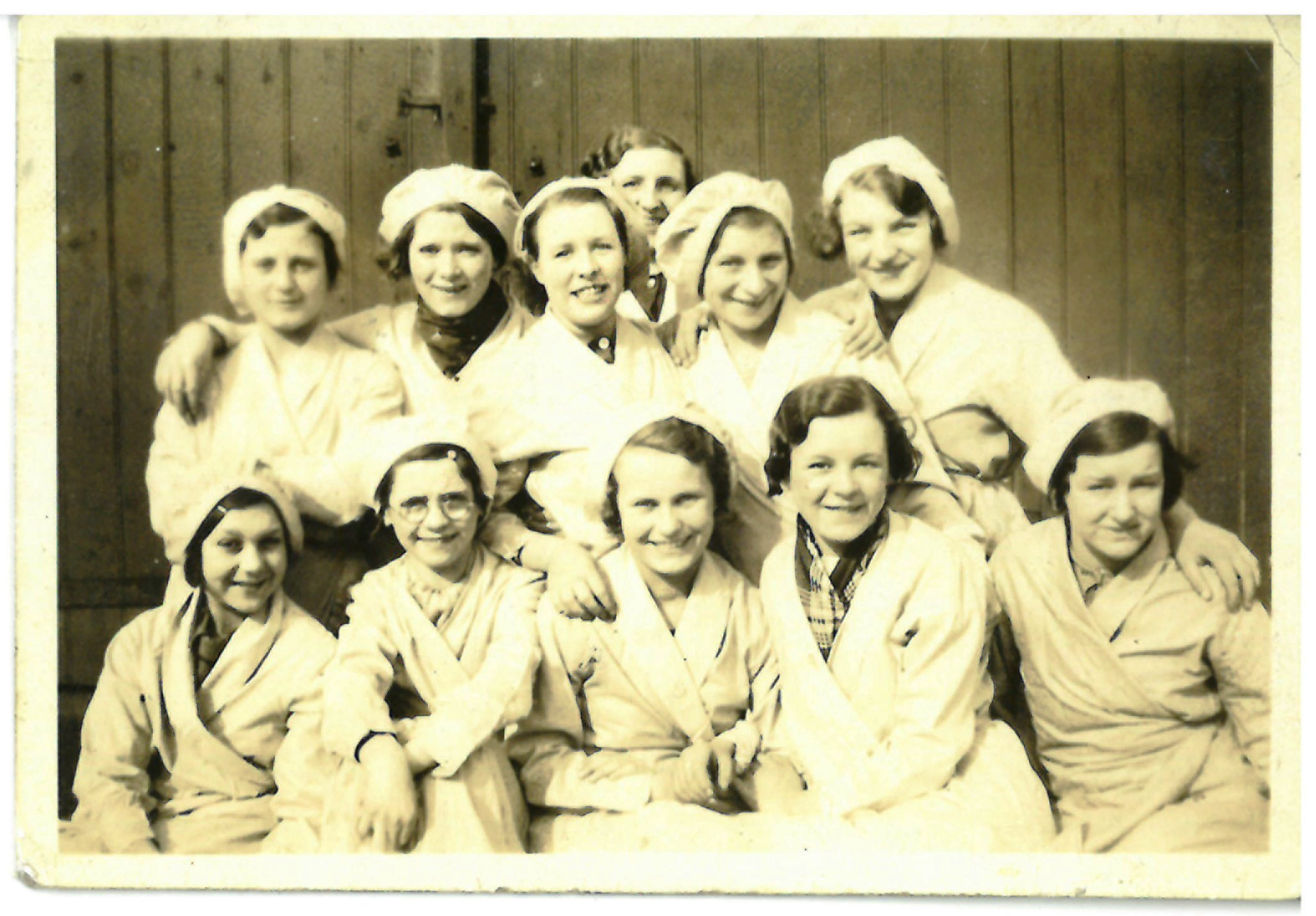 Women workers at Old Hall stainless steel works in Bloxwich 1930s